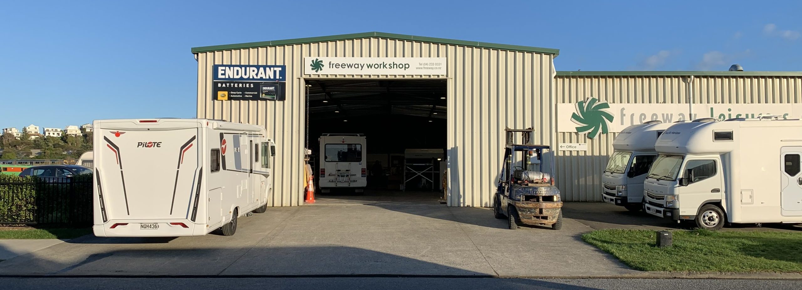 RV services and parts